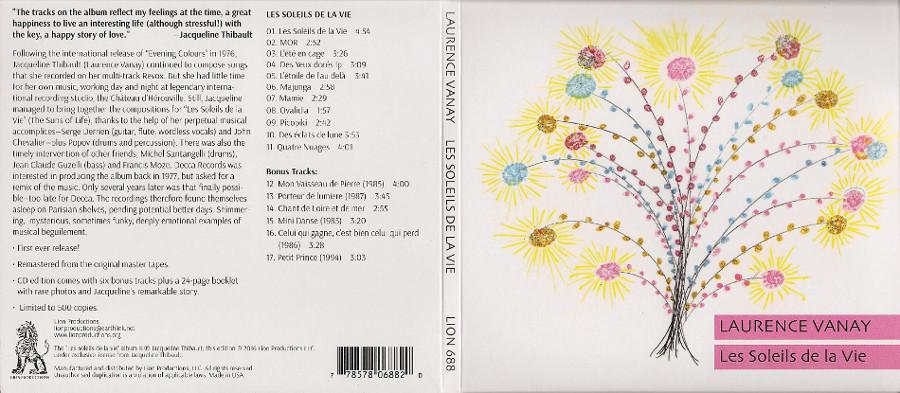 Laurence VANAY Les soleils de la vie