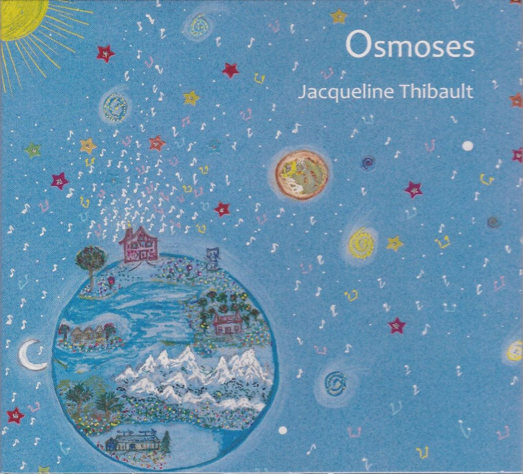 Nouvel Album de Jacqueline Thibault, Osmoses